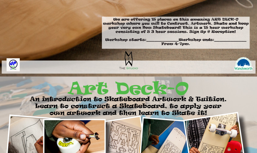 An Introduction to Skate Board Artwork & Tutiton