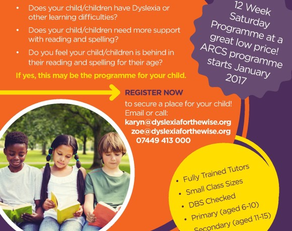 The ARCS Programme: Educational support for Children