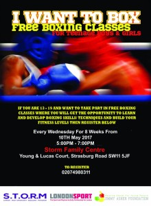 Boxing for teenagers