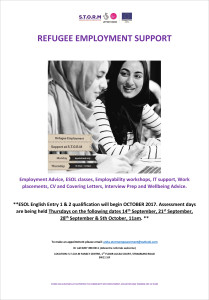 REFUGEE EMPLOYMENT SUPPORT poster